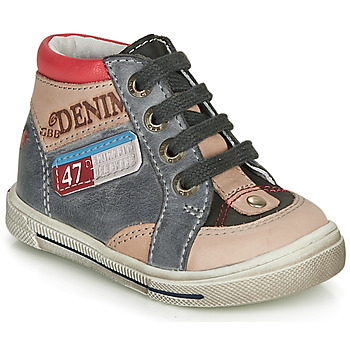 Zapatos Niño Zapatillas altas GBB PARIS Gris / Beige