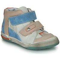 Zapatos Niño Zapatillas altas GBB PATRICK Gris / Azul