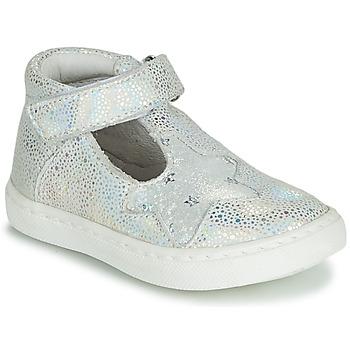 Zapatos Niña Bailarinas-manoletinas GBB PARTHENON Plata