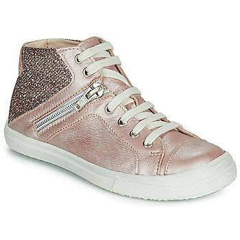 Zapatos Niña Zapatillas altas Achile KAMI Rosa
