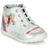 Zapatos Niña Botas de caña baja Catimini POUSSIN Blanco
