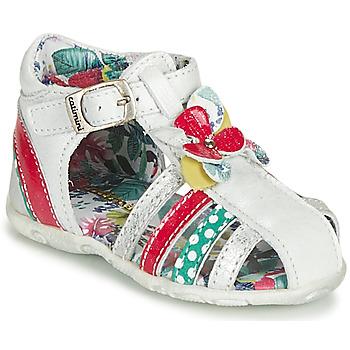 Zapatos Niña Sandalias Catimini PERSAN Blanco / Multicolor