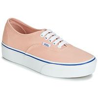 Zapatos Mujer Zapatillas bajas Vans AUTHENTIC PLATFORM 2.0 Rosa