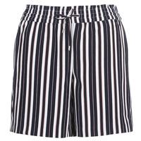 textil Mujer Shorts / Bermudas Only ONLPIPER Marino / Blanco