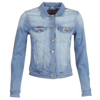 textil Mujer chaquetas denim Only ONLTIA Azul / Claro