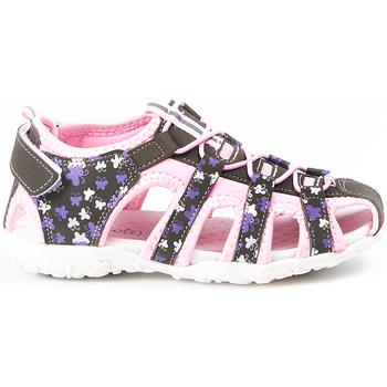 Zapatos Niños Sandalias de deporte Huran Sandalias  400121 Gris-Rosa Gris