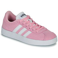 Zapatos Niños Zapatillas bajas adidas Originals VL COURT K ROSE Rosa