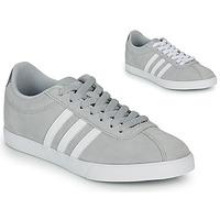 Zapatos Mujer Zapatillas bajas adidas Originals COURTSET GRIS Gris