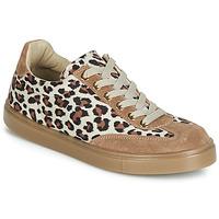 Zapatos Mujer Zapatillas bajas André ARDOISE Leopardo