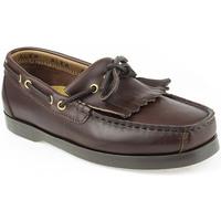 Zapatos Niño Zapatos náuticos Alex K Shoes Vellas Marrón