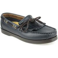 Zapatos Niño Zapatos náuticos Alex K Shoes Vellas Azul