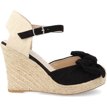 Zapatos Mujer Alpargatas H&d HD-296 Negro