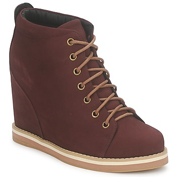 Zapatos Mujer Low boots No Name WISH DESERT BOOTS Burdeo