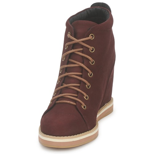 Low Mujer Boots Burdeo Boots Low N08nOvmw