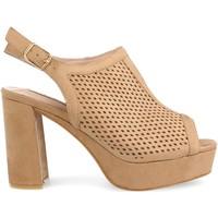 Zapatos Mujer Sandalias Clowse 9R82 Camel