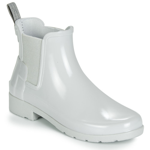 Hunter ORIGINAL KIDS Gris - Envío gratis | ! - Zapatos Botas de agua Mujer