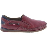 Zapatos Hombre Mocasín Fluchos Zapatos  9883 Terracota Rojo
