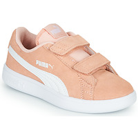 Zapatos Niña Zapatillas bajas Puma SMASH PSV PEACH Coral