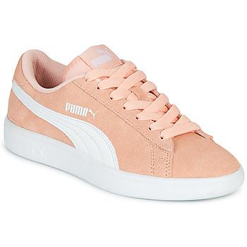 Zapatos Niña Zapatillas bajas Puma SMASH V2JR PEAC Coral