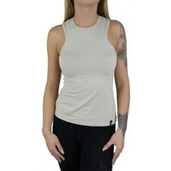 textil Mujer camisetas sin mangas Gymhero Tank beige