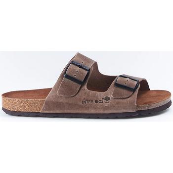 Zapatos Mujer Sandalias Interbios Sandalias  9560 Pardo Marrón