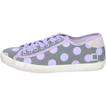 Zapatos Mujer Zapatillas bajas Date AP561 gris