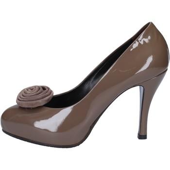 Zapatos Mujer Zapatos de tacón Guido Sgariglia de salón beige charol ay118 beige