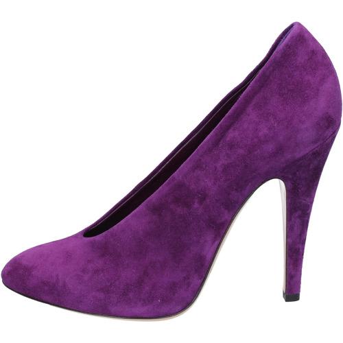Zapatos Mujer Zapatos de tacón Casadei de salón púrpura gamuza az383 púrpura