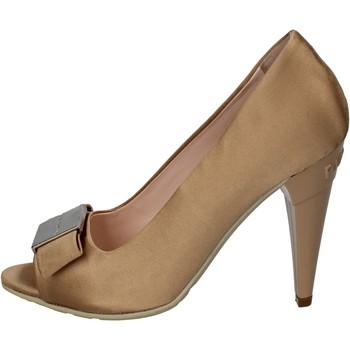 Zapatos Mujer Zapatos de tacón Richmond de salón beige satén dorado wh897 beige