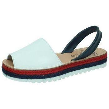 Zapatos Mujer Sandalias Avarca Cayetano Ortuño IsleÑa plataforma Blanco