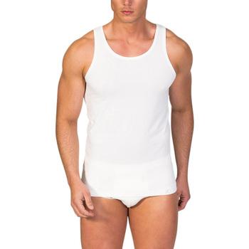 textil Hombre camisetas sin mangas Zd Zero Defects Camiseta interior de hombre ZD de tirantes de soja Natural