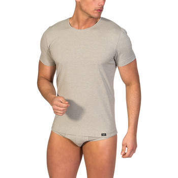 textil Hombre camisetas manga corta Zd Zero Defects Camiseta interior de hombre ZD de manga corta de soja Piedra