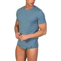textil Hombre camisetas manga corta Zd Zero Defects Camiseta interior de hombre ZD de manga corta de soja Azul