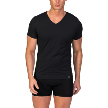 textil Hombre camisetas manga corta Zd Zero Defects Camiseta interior de hombre ZD de manga corta de soja Negro