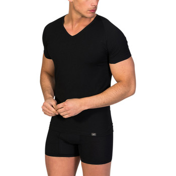textil Hombre camisetas manga corta Zd Zero Defects Camiseta interior de hombre ZD de manga corta Negro