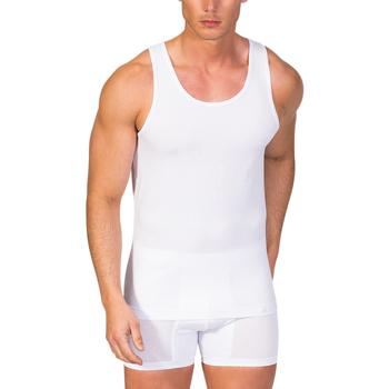 textil Hombre camisetas sin mangas Zd Zero Defects Camiseta interior de hombre ZD de tirantes Blanco