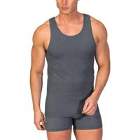textil Hombre camisetas sin mangas Zd Zero Defects Camiseta interior de hombre ZD de tirantes Gris