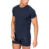textil Hombre camisetas manga corta Zd Zero Defects Camiseta interior de hombre ZD de manga corta Azul