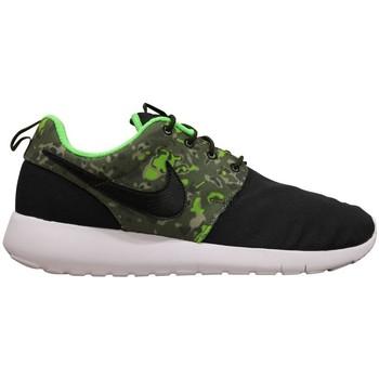 Zapatos Niño Zapatillas bajas Nike ROSHE ONE PRINT JUNIOR NOIR Negro