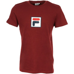 textil Hombre camisetas manga corta Fila Evan 2.0 Tee SS Rojo