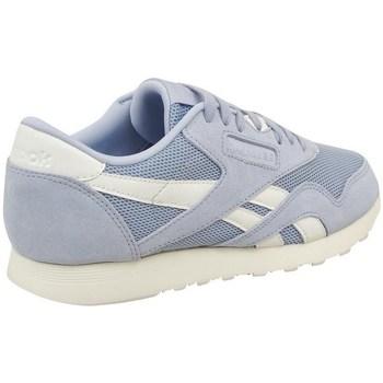Zapatos Mujer Zapatillas bajas Reebok Sport CL Nylon Mesh M Celeste