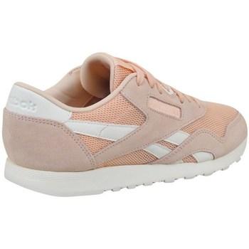 Zapatos Mujer Zapatillas bajas Reebok Sport CL Nylon Mesh M Desert Rosa