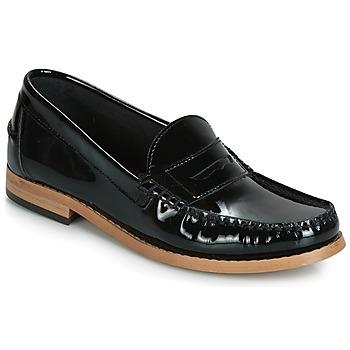Zapatos Mujer Mocasín André CESAR Negro