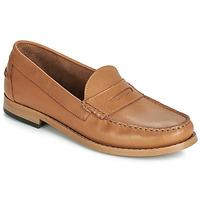 Zapatos Mujer Mocasín André CESAR Cognac