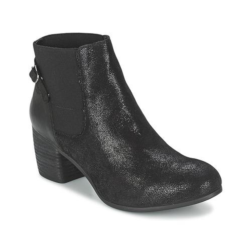 Zapatos Mujer Botines SPM GIRAFE Negro
