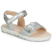 Zapatos Niña Sandalias Geox HAHITI Silver