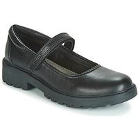 Zapatos Niña Derbie Geox CASEY GIRL Negro
