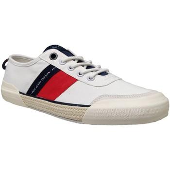 Zapatos Hombre Zapatillas bajas Pepe jeans Cruise sport man Blanco/Rojo