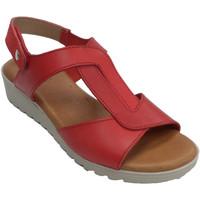 Zapatos Mujer Sandalias Rodri Sandalia mujer simulando nudo rojo