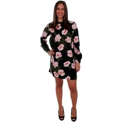 textil Mujer vestidos cortos Vero Moda 10210145 VMHOLLY LS SHORT DRESS D2-1 BLACK Negro